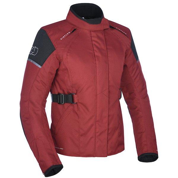 Oxford Dakota 2.0 WS Textile Jacket - Burgundy colour, CMG
