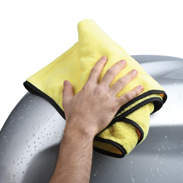 Oxford Super Drying Towel - Yellow colour, CMG Shop, London