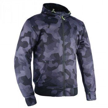 Oxford Textile Super Hoodie - Grey/Camo colour, MCS, Chelsea, UK