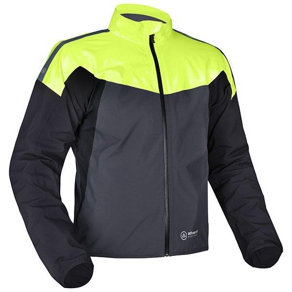 Oxford Rainseal Pro Jacket - Grey/Black/Fluo colour, London