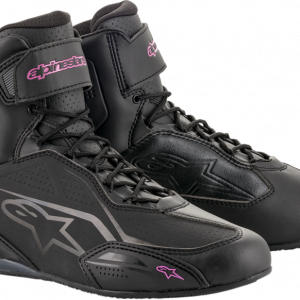 Alpinestars Stella Faster-3 Shoes - Black & Fuchsia