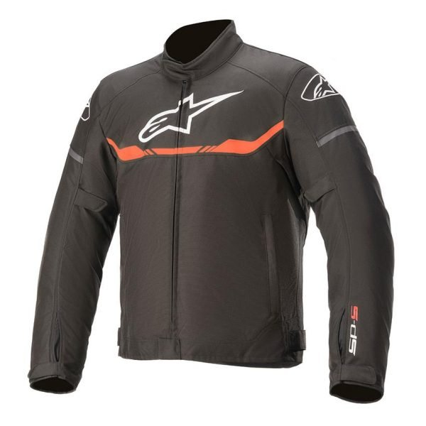 Alpinestars T-SPS Waterproof Jacket - Black/Red colour