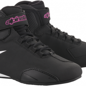 Alpinestars Stella Sektor Shoes - Black Fuschsia colour