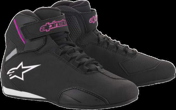 Alpinestars Stella Sektor Shoes - Black Fuschsia colour