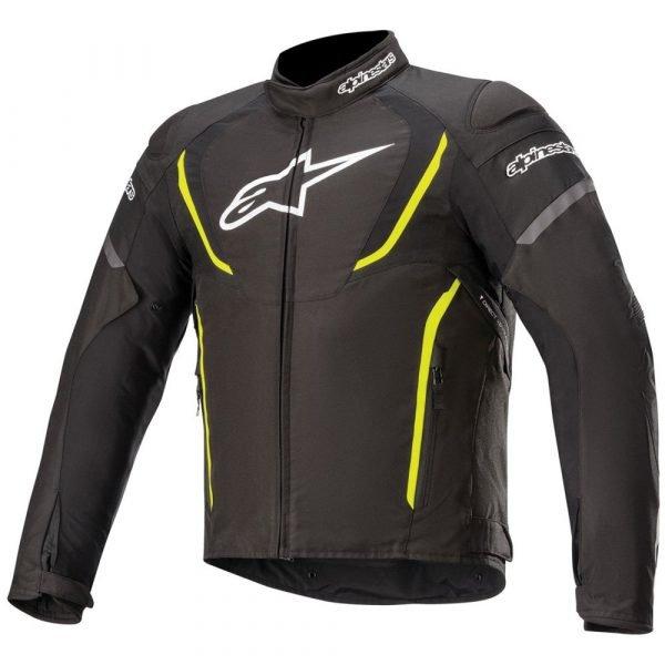 Alpinestars Stella T-Jaws v3 Waterproof Jacket - Black/White/Fuchsia colour, MCS
