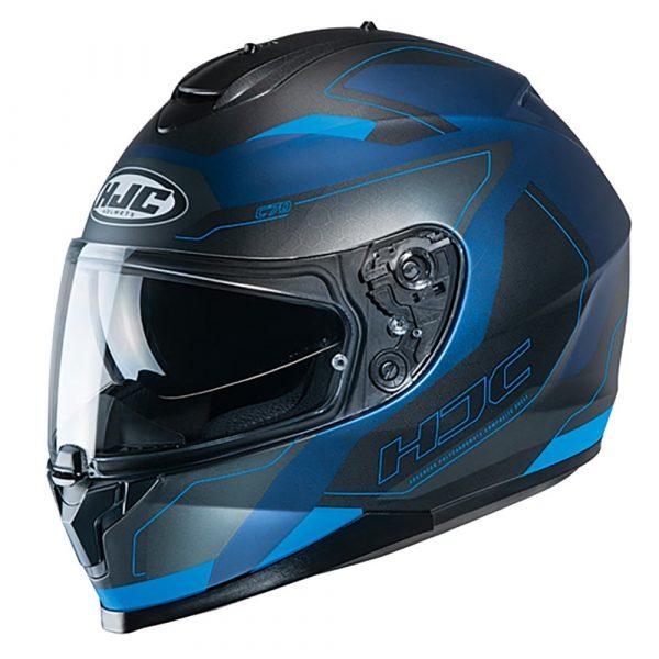 HJC C70 Canex MC2SF Helmet - Blue colour, Motorcycles Clothing shop, Chelsea