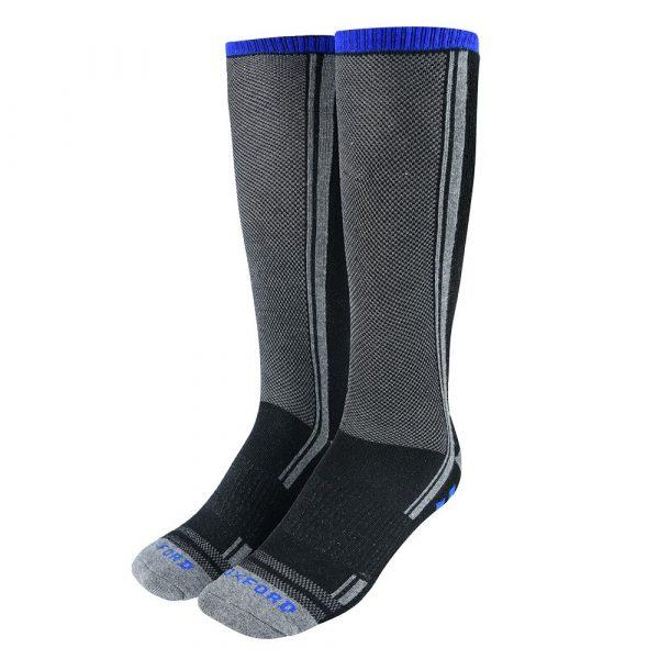 Oxford Coolmax Oxsocks Socks Black