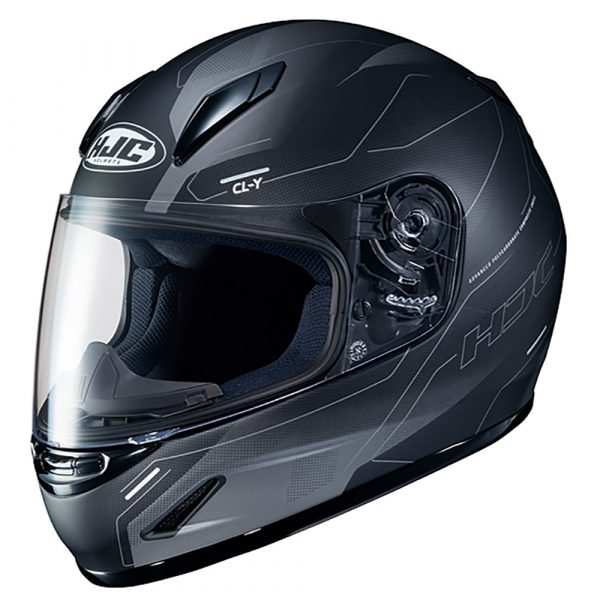 HJC CL-Y Taze MC Helmet - Black colour, London