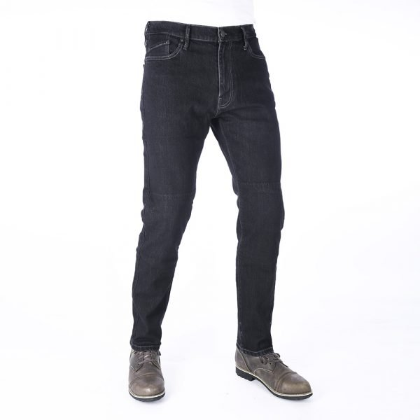 Oxford Original Approved Slim Men's Jean - Black Long, Scooters Clothing, London