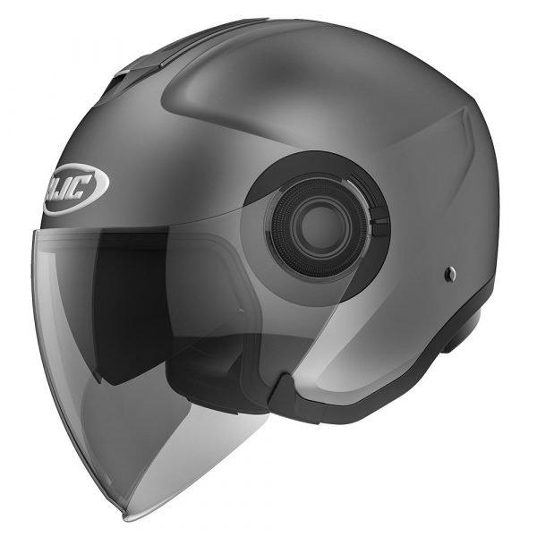 HJC I40 Semi Flat Helmet Titanium