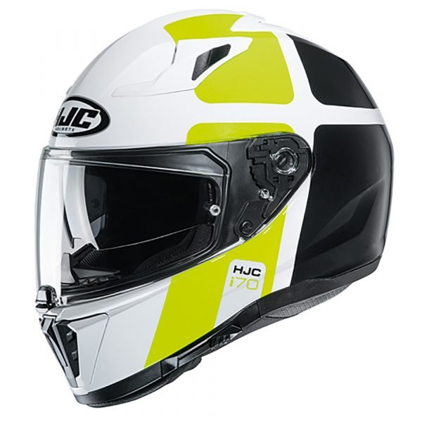 HJC I70 Prika MC4H Helmet Yellow
