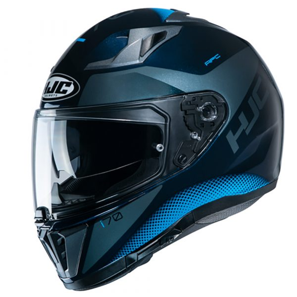 HJC I70 Tas Helmet - Blue colour, Motorbike Clothing Shop, London