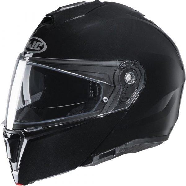 HJC I90 Helmet - Black colour, Chelsea Motorcycles Group Shop