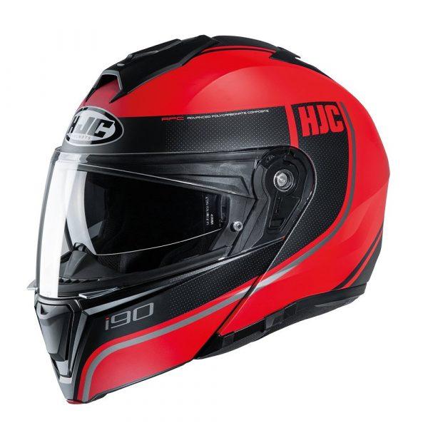 HJC I90 Davan Helmet - Red
