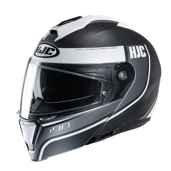 HJC I90 Davan Helmet - White colour, Motorcycles Clothing Shop, London