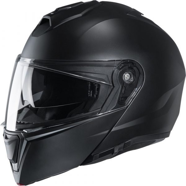 HJC I90 Helmet - Gloss Black Colour, Chelsea Motorcycle Clothing Store