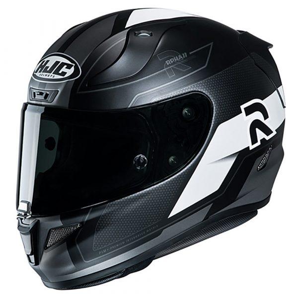 HJC RPHA 11 Helmet 2020 - Black/White colour