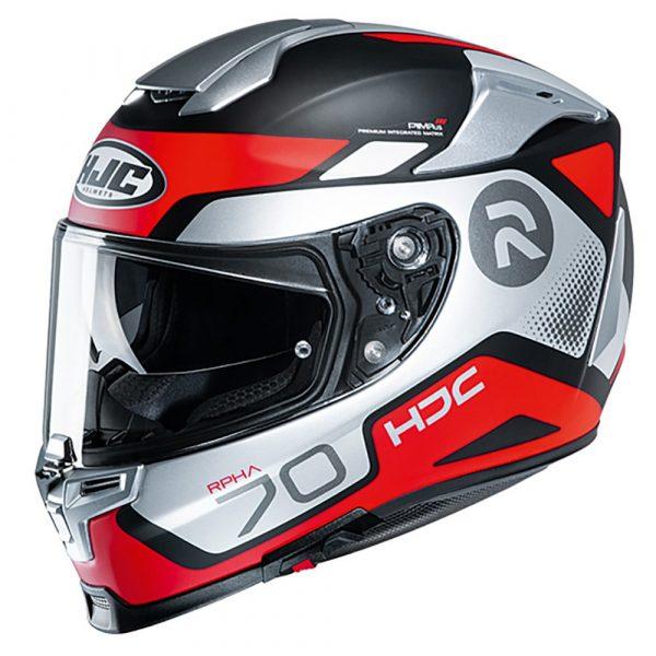HJC RPHA 70 Helmet - Red/Black/Grey, Chelsea, UK