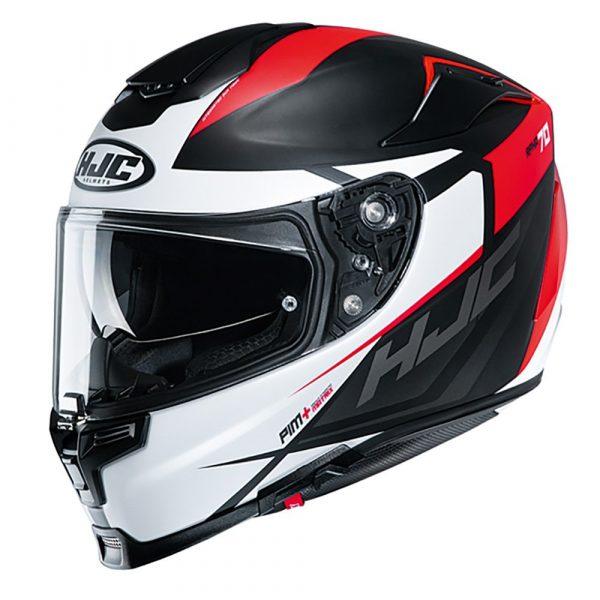 HJC RPHA 70 Helmet 2020 - Black/Red/White colour