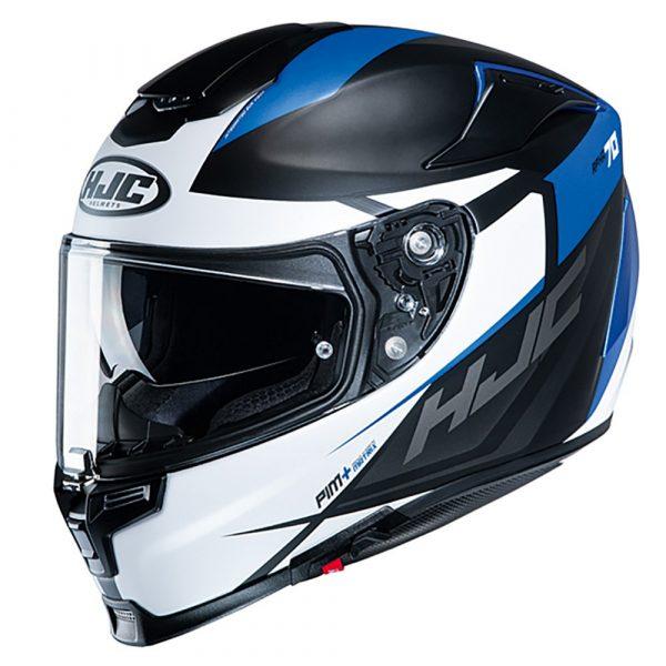 HJC RPHA 70 Helmet 2020 - White/Black/Blue