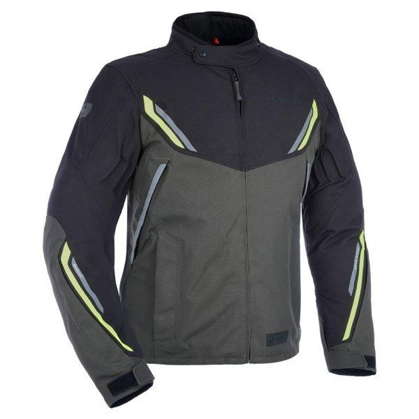 Oxford Hinterland MS Jacket - Black/Grey/Fluo colour, MCS, UK