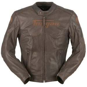 Furygan Leather Jacket Brown