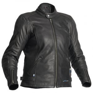 Halvarssons Leather jacket Cambridge Black