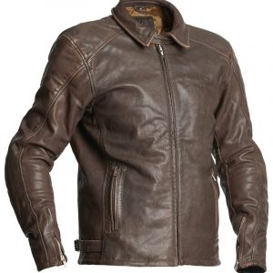 Halvarssons Leather jacket Trenton Brown