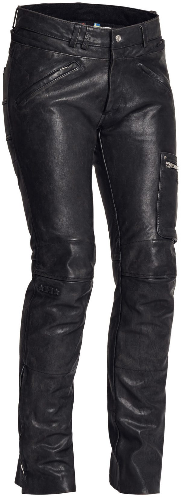 Halvarssons Leather pants Rider Lady Black