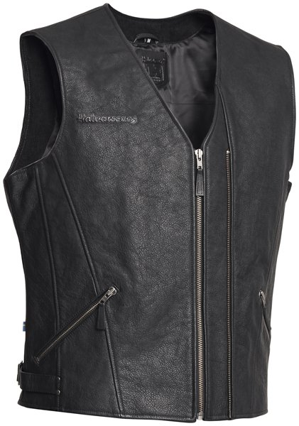 Halvarssons Leather vest Cut