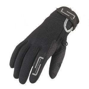 Lindstrands Glove Coal Neopren Black