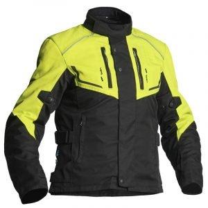 Lindstrands Textile jacket Halden Black-Yellow