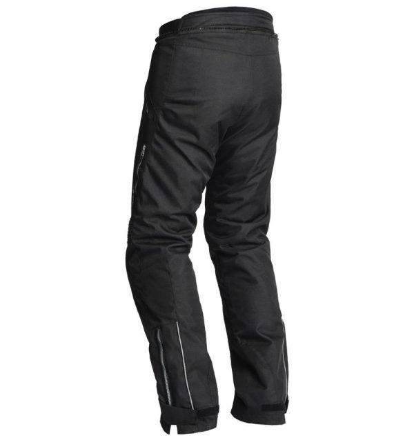 Lindstrands Textile pants Volda Black back
