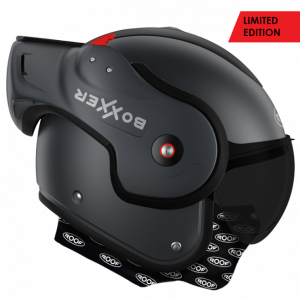 Roof Boxxer 9 Helmet - Darkside Mat Graphite