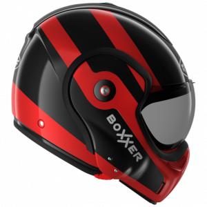 Roof Boxxer 9 Helmet - Fuzo Black/Red