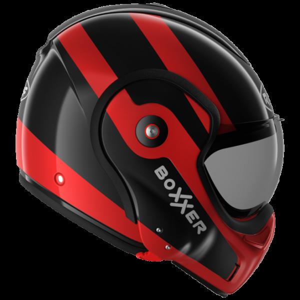 Roof Boxxer 9 Helmet - Fuzo Black/Red