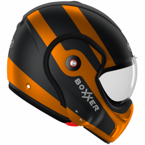 Roof Boxxer 9 Helmet - Fuzo Matt Black/Orange