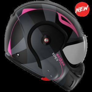 Roof Boxxer 9 Helmet - viper mat black pink