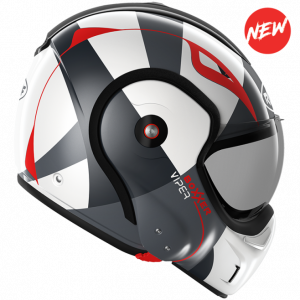 Roof Boxxer 9 Helmet - viper red black white