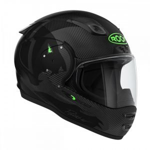 Roof RO200 Carbon Panther Black: Fluo Green, MCS, London, UK