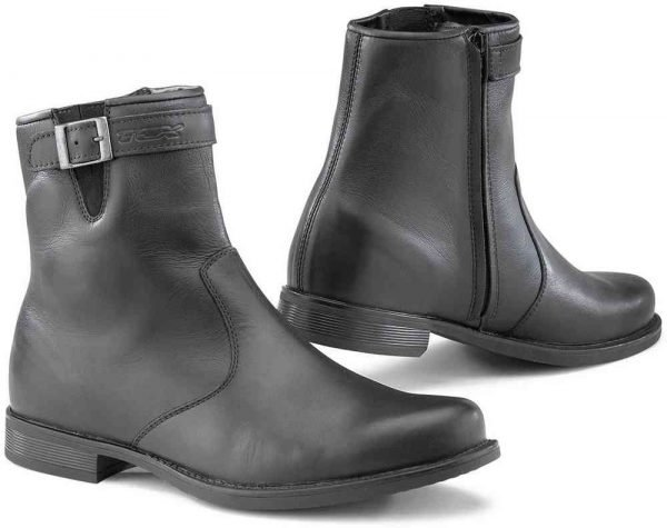 TCX X-Avenue Waterproof Scooter Boots - Black colour