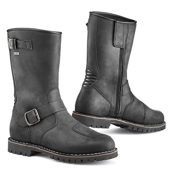 TCX Fuel GTX Boots - Black colour, Chelsea Motorcycles and Scooters Clothing