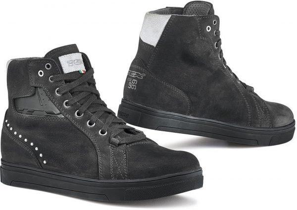 TCX Street Dark Lady Waterproof Boots - Black colour, UK
