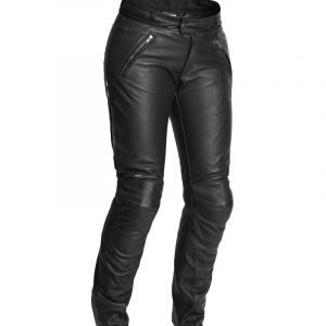 Halvarssons Trousers - Leather pants C Pants Lady Black