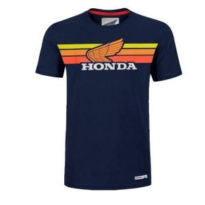 Honda Sunset T-Shirt Navy Blue - front, MCS