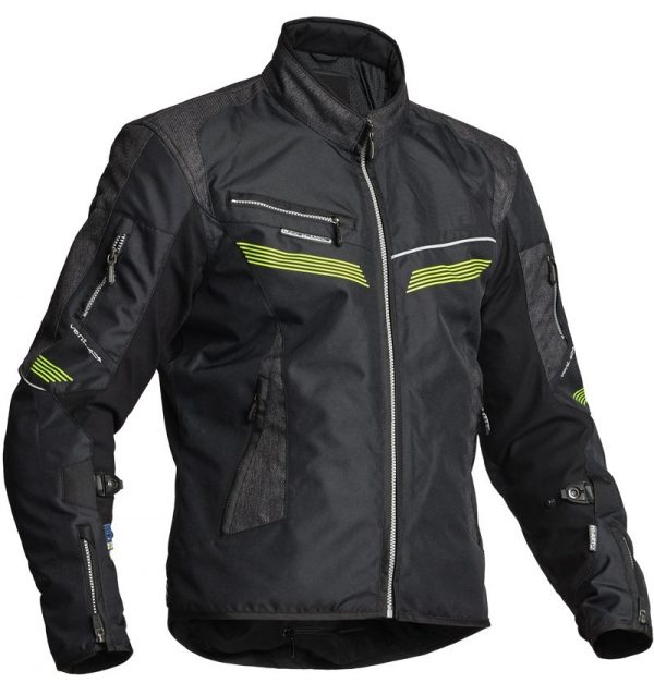 Lindstrands Zhivago Textile Jacket - Black, London