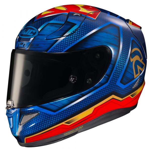 HJC RPHA 11 Superman helmet