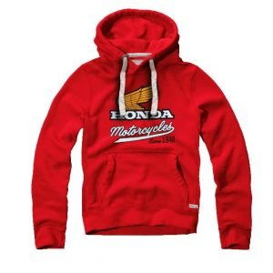 Honda Elsinore hoodie front - London, UK