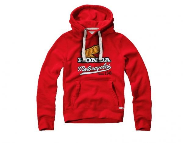 Honda Elsinore hoodie front - London, UK