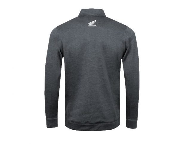 Honda Tactical Zipper Sweater back - London